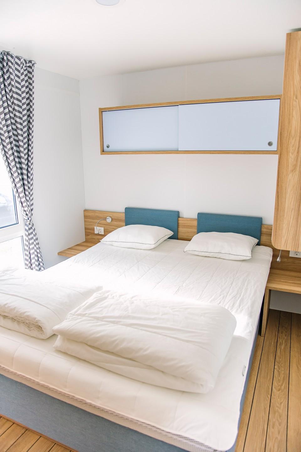 Sovrum med 1 säng